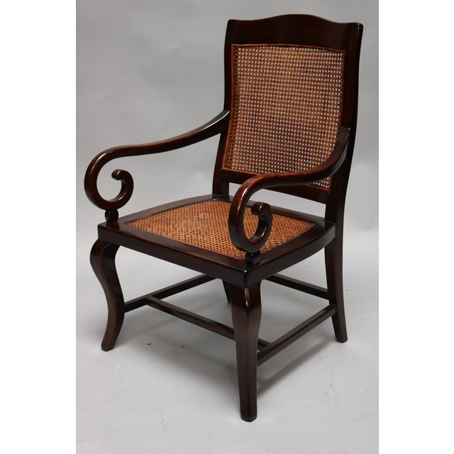 Guangdong Ironwood Colonial Armchair For Sale - Image 4 of 7