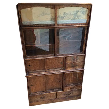 Antique Japanese Cabinet - Image 1 of 6