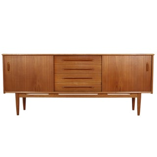 Swedish Teak Credenza by Nils Jonsson for Troeds