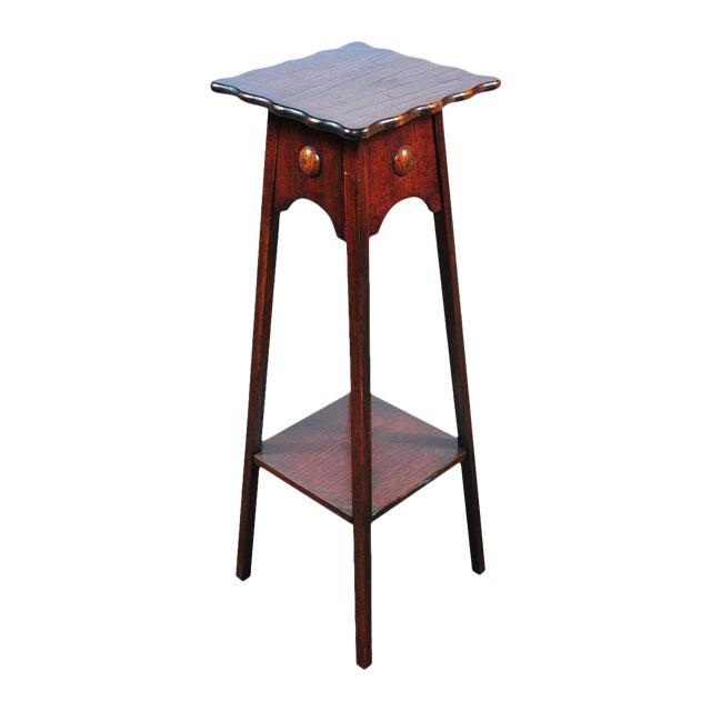 "Antique American Designer 36"" Fern Stand For Sale"