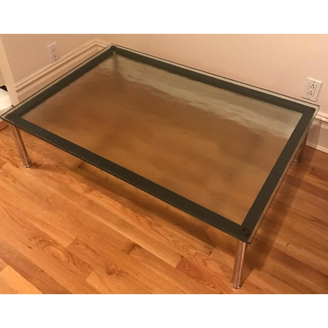 Modern Le Corbusier Lc10 Rectangular Low Table For Sale - Image 3 of 5
