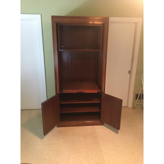"""1980's """"Criterion"""" entertainment cabinet by Drexel. Think of the possibilities; with a little modification this would make..."""