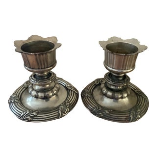 Contemporary Global Views Candlesticks - a Pair For Sale