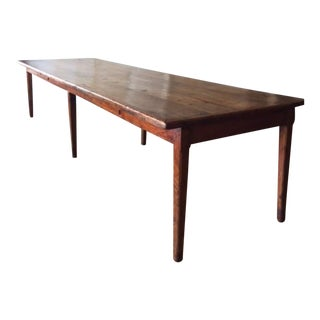 Tuscan Antique Dining Table