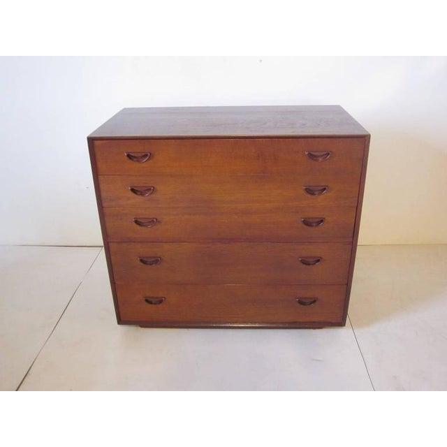 Brown Peter Hvidt for John Stuart Teak Wood Chest For Sale - Image 8 of 8