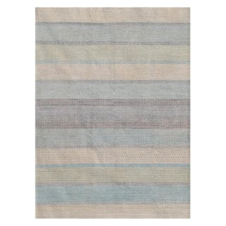 Rambler Afghan Rug - 8′ × 10′ For Sale