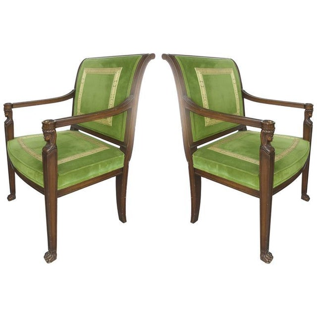 20th Century Renasaince Cocheo Bros, Fine Quality Chairs - A Pair For Sale - Image 11 of 11