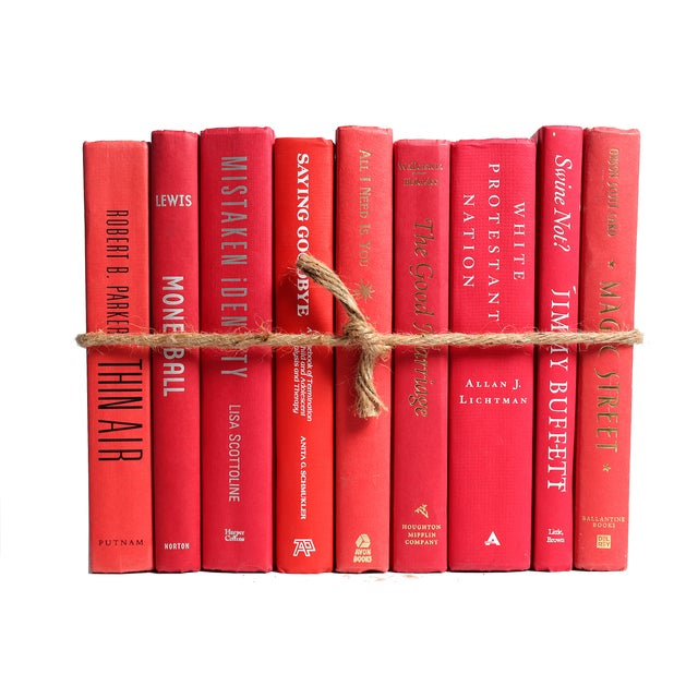 Modern Red ColorPak Of Books - Image 3 of 3
