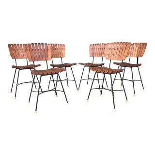 Mid-Century Arthur Umanoff Dining Chairs - Set of 6