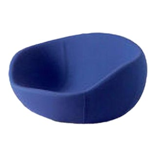 Modern Children's Blue Egg Shaped Rocking Chair For Sale