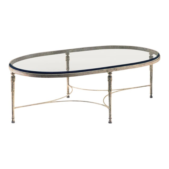 Minton Spidel Iron Coffee Table For Sale