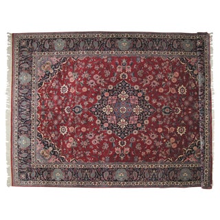 "Leon Banilivi Kashan Carpet - 10' X 14'7"" For Sale"