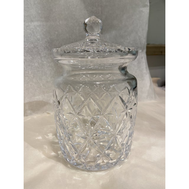 1990s Tiffany & Co. Glass Jar With Lid For Sale In Boston - Image 6 of 6