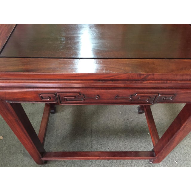 1970s Set of Rosewood Nesting Tables For Sale - Image 5 of 13