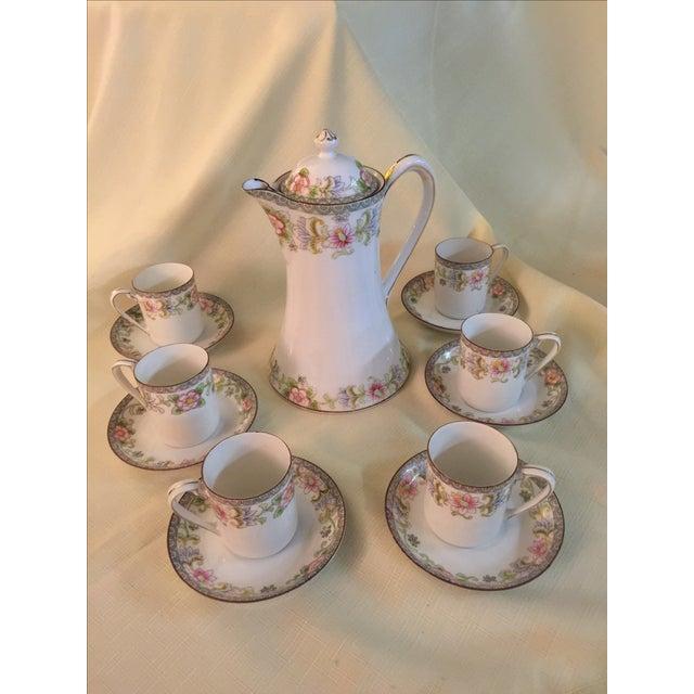 Porcelain Demitasse - Set for 6 - Image 2 of 6