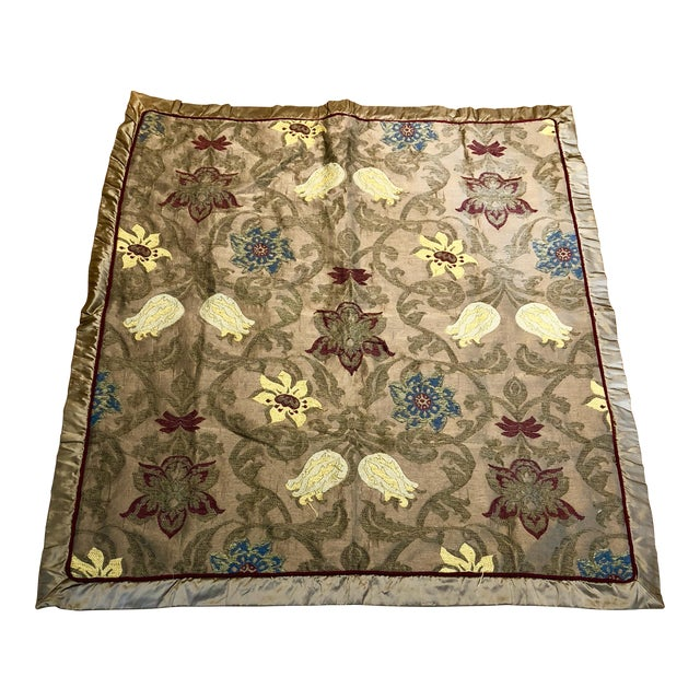 Clarence House Silk Throw For Sale