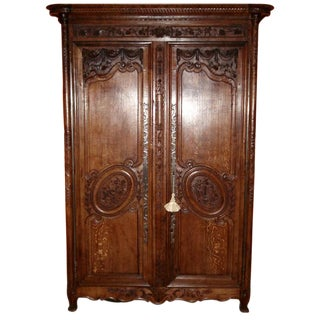 One of a Kind Beautiful Normandie Armoire