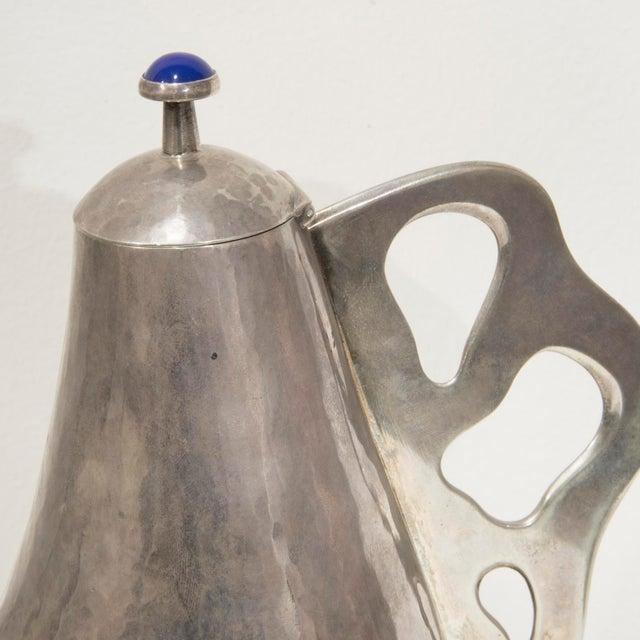 Arrigo Finzi - Tea Pot in Silver - 1950's For Sale - Image 4 of 6
