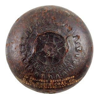 Leather Coal Company Paper Weight