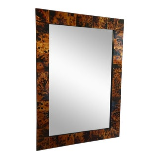 Hand Painted Tortoise Shell Mirror