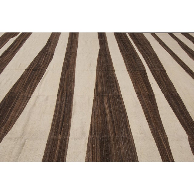 21st Century Modern Kilim Rug 12'x15' For Sale In New York - Image 6 of 8
