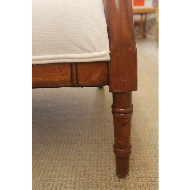 Vintage Bamboo Settee - Image 8 of 8