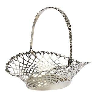 Sterling Silver Basket Swing Handle