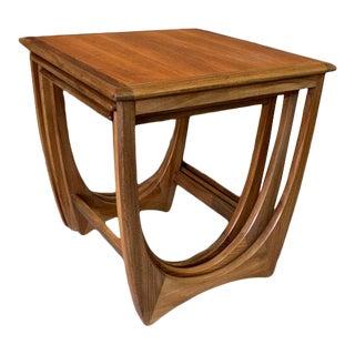 Vintage Mid-Century Modern Danish Modern Teak G Plan Astro Nesting Tables For Sale
