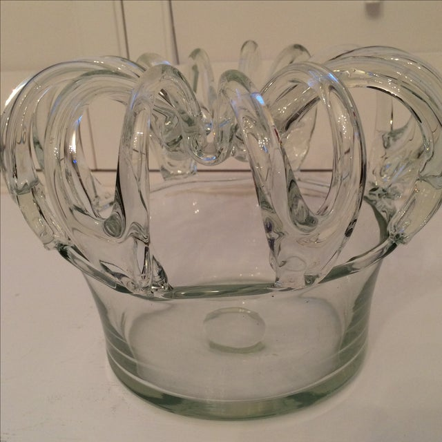 Antique 19th Century Hand Blown Glass Bride's Bank - Image 9 of 9