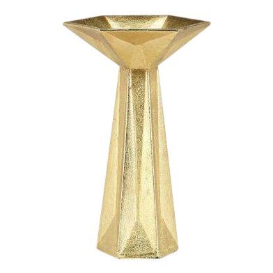 Tom Dixon Gem Candlestick Gold For Sale