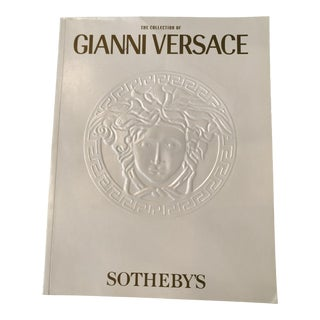 Sotheby's Auction Catalog Book of the Collection of Gianni Versace For Sale