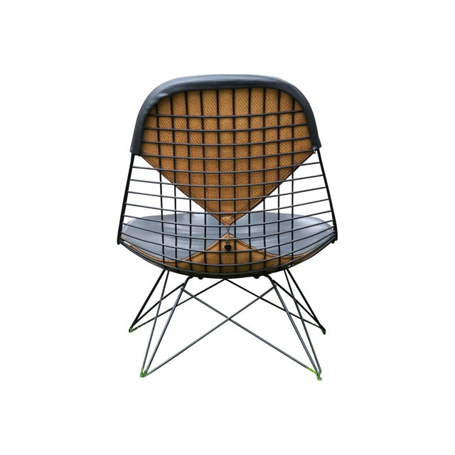 Charles and Ray Eames LKR with Cat's Cradle Base. This is an awesome original LKR bikini chair with original jute backing...