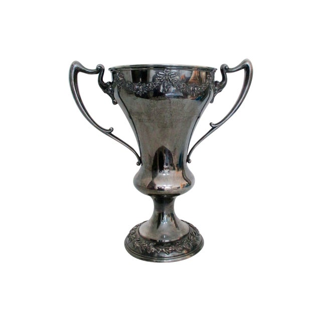 Antique 1920 Theology Debate Loving Cup Trophy - Image 1 of 7