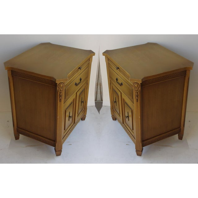 Midcentury Modern Walnut Nightstands - A Pair - Image 2 of 6