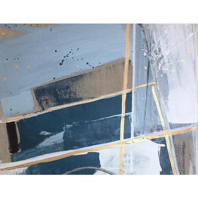 'TSCHUMi' original abstract painting by Linnea Heide - Image 6 of 7