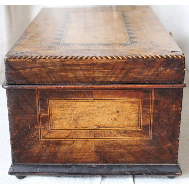 Tunbridge Ware Sewing Box - Image 4 of 9