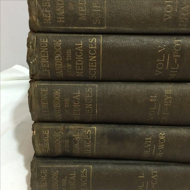 Large Antique Medical Books - Set of 5 - Image 6 of 9