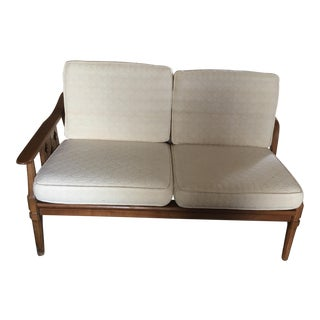 Mid-Century Modern Settee For Sale
