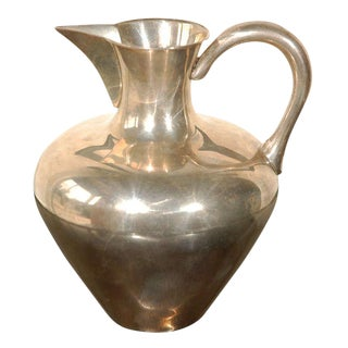 Sterling Pitcher For Sale