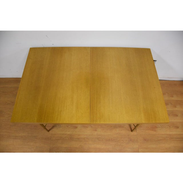 Mid-Century Modern Dining Table and Chairs by Paul McCobb - Set of 7 For Sale - Image 3 of 13