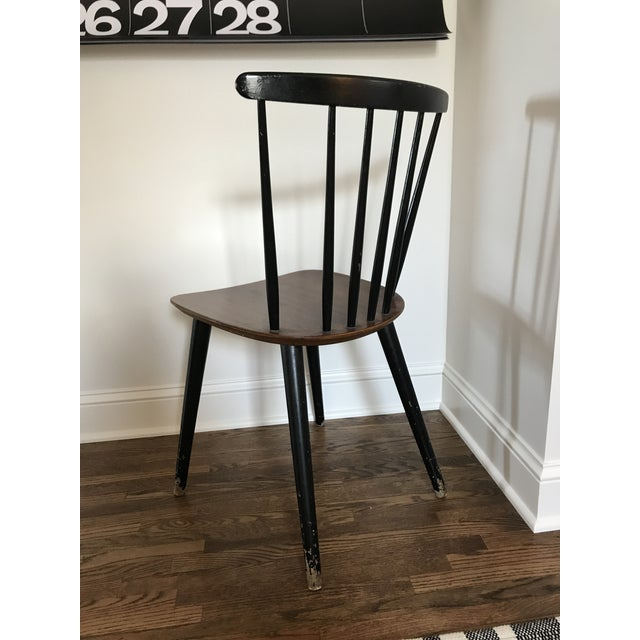 Wood Vintage Danish Windsor Chair For Sale - Image 7 of 13