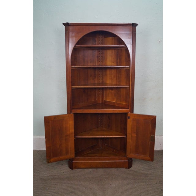 GEKA Grange French Country Cherry Corner Cabinet - Image 8 of 10