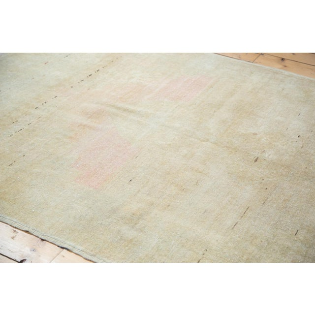 """Distressed Oushak Rug - 5' X 7'6"""" For Sale - Image 9 of 9"""