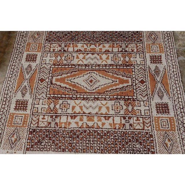 1950s Moroccan Style Portuguese Rug- 8′ × 10′ For Sale - Image 4 of 10