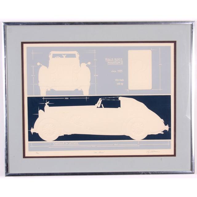 Rolls Royce Phantom Lithograph - Image 2 of 9