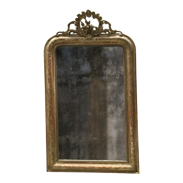 Gold 19th Century Mirror For Sale - Image 8 of 10