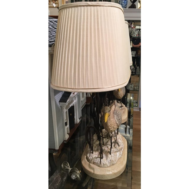 Maitland Smith Designer Heron Bird Lamps - a Pair - Image 5 of 5