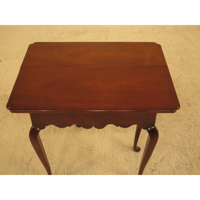 Kittinger Drop Leaf Williamsburg Occasional Table For Sale - Image 5 of 10