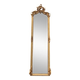 Rococo Style Full Length Mirror For Sale