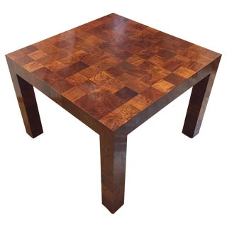 Mid-Century Modern Milo Baughman Patchwork Dinette or Dining Table For Sale